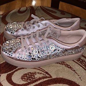 Aldo Crystal Sneakers